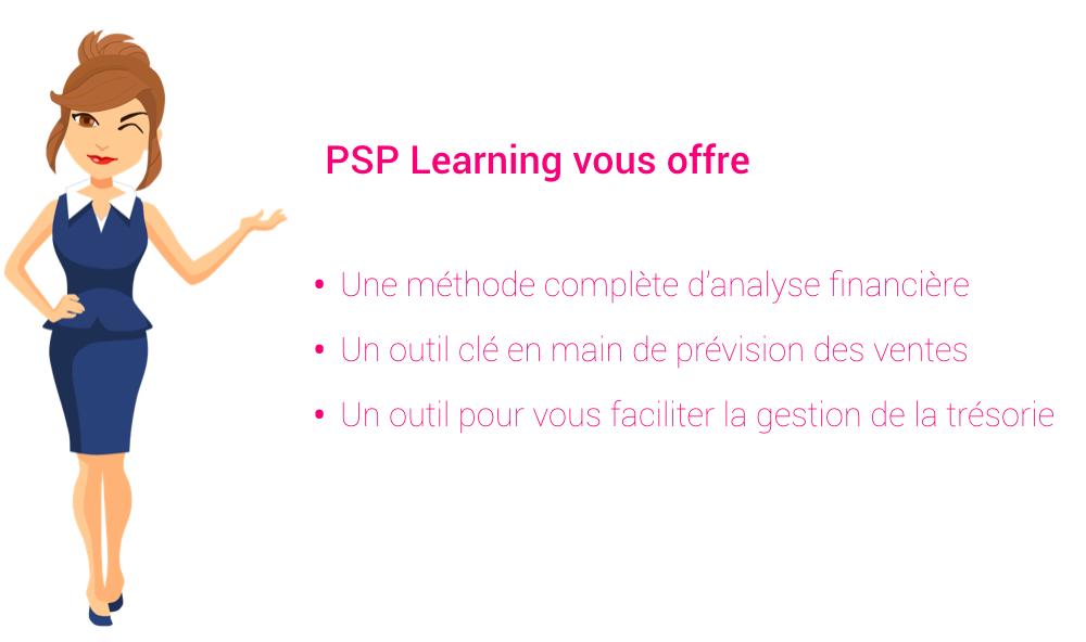 PSP learning stratégie financière