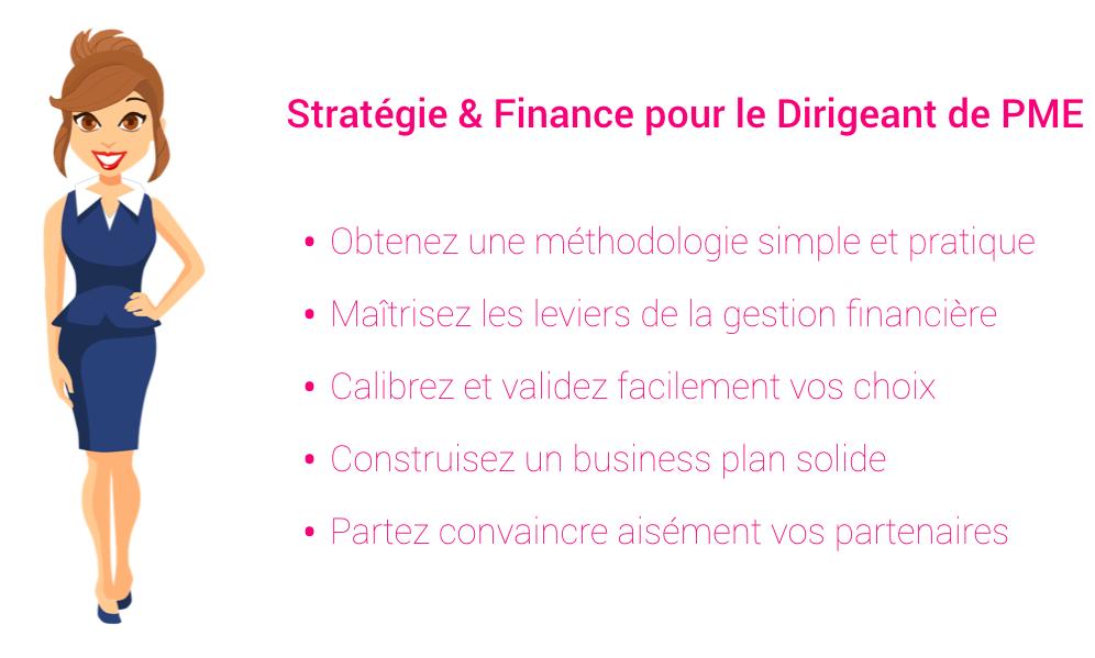 Stratégie & Finance pour le Dirigeant de PME